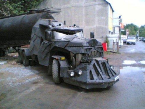 Heavy avtorentacar transporter